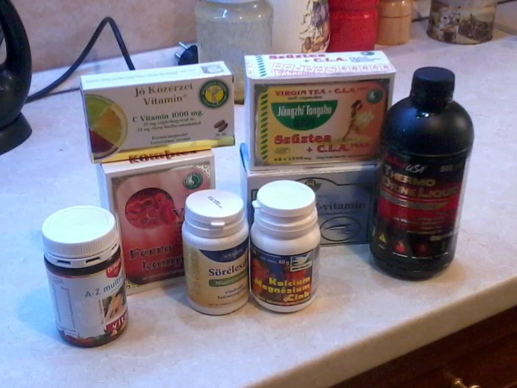 Vitaminok és étrend-kiegészítők