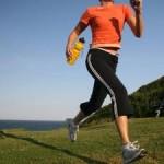 3/4-es futónadrág és rövid ujjú felső  a futóedzéshez, ha kellemes az időjárás