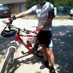 Még egy utolsó bringázás nyári mezben