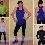Alapfelszerelés futáshoz:hosszú szárú nadrág, 3/4-es szárú nadrág, trikó, hosszujjú felső, bélelt hosszú ujjú felső (polár), eső/szélálló dzseki