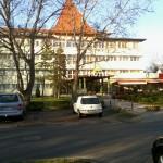 Sport Hotel - a szállás - közvetlenül az atlétikai központban