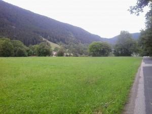 Szemet nyugtató zöld, futásra hívó táj