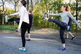 Bemelegítés után indulhat az edzés